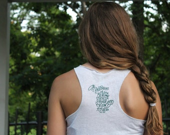 On The Banks - Ladies' Michigan State University Tank Top