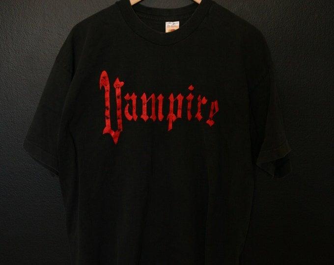Vampire 1990s vintage Tshirt