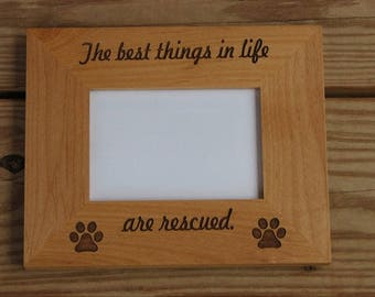 laser engraved wood picture frame pet photo frame engraved photo frame engraved pet - Engraved Picture Frame