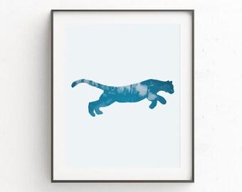 Jungle Animals, Jungle Nursery, Safari Nursery Art, Jungle Nursery Art, Safari Nursery, Cheetah, Jungle Nursery Print, Nursery Wall Art