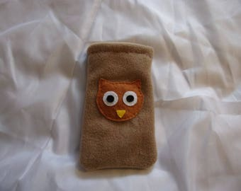 Fleece Owl Phone Case