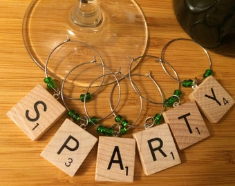 SPARTY wine markers