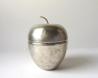 Lidded Apple Dish