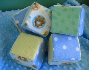 Teddy Bear Foam Baby Blocks