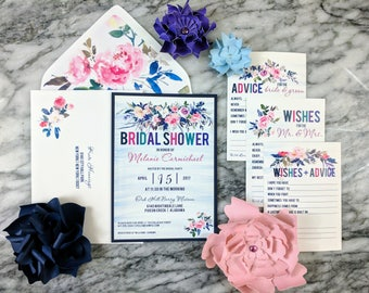 Royal Garden Collection: Advice Cards for the Bride and Groom