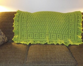 """The """"Limeade""""  Accent throw!!!"""