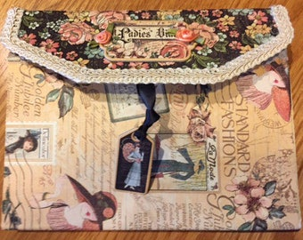 Mixed Media Journal: Graphic 45 Ladies Diary