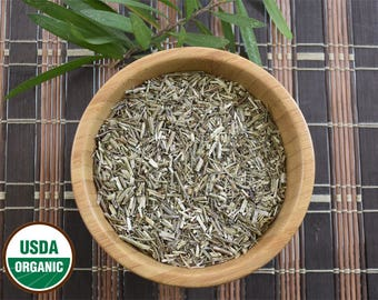 Organic Vervain Herb, 1 oz Cut & Sifted, Verbena hastata