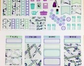Zen 2017 Asheville Weekly Planner Stickers for IWP and most other planners