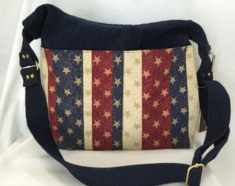 Stars and Stripes Snazzy Slouch