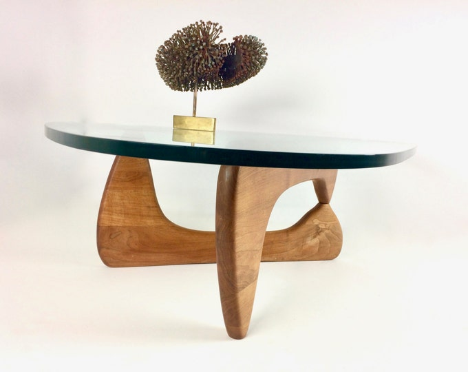 SOLD Very Rare Authentic Early Isamu Noguchi Mid Century Modern Coffee Table