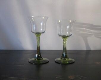 Vintage Partylite Radiant Glow Stemmed Duo Candle Holders / Retired Partylite Radiant Glow Pedestal Votive Cups / Vintage Candle Holder