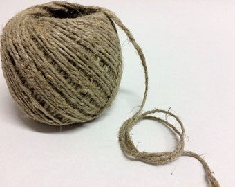 80meters linen twine 2mm linen rope 4ply