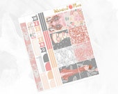 I Do HORIZONTAL Kit - Matte Glossy Erin Condren Horizontal Planner Stickers -