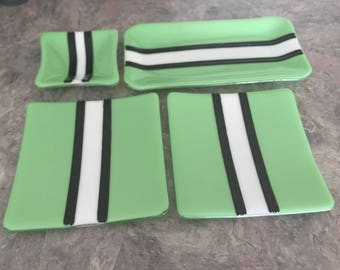 Mint Green Sushi Set