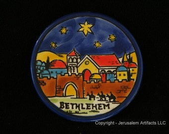 LIQUIDATION - Ceramic Handmade Ornaments from Holy Land - 95 Ceramic Ornaments