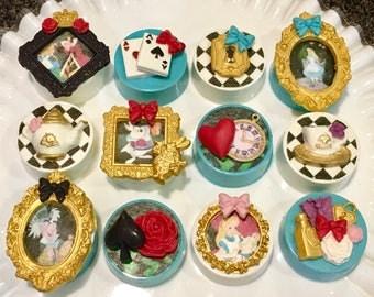 Alice, Wonderland, Chocolate Covered Oreos, Tea Party, High Tea