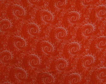 """Home Decor Fabric, Tie Dyed Print, Red Fabric, Sewing Accessories, Dressmaking Fabric, 45"""" Inch Rayon Fabric By The Yard ZBR501C"""