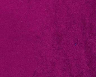 """Dressmaking Velvet Fabric, Purple Fabric, Indian Decor, Stretch Fabric, 60"""" Inch Wide Fabric By The Yard ZVE94P"""