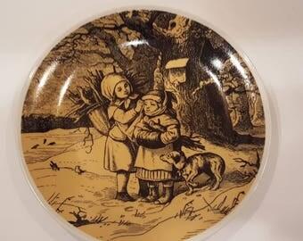 Seltmann Weiden Bavaria Plate by Ludwig Richter