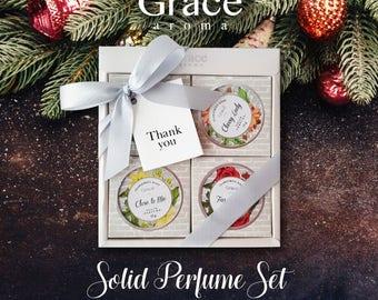 Grace Solid Perfume Giftset Box (4 pcs.)
