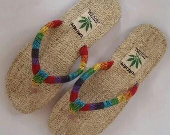 Pure Hemp THC Free Bohemain Sandals