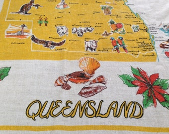 Vintage Linen Queesland tablecloth