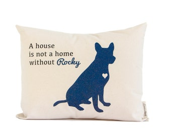 Personalized Pet Pillow, Dog Lover Gift, Dog Gift, Cat Gift, Cat Lovers Gift, Home Decor, Throw Pillows