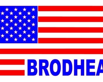 American Flag with City or State