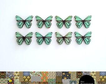 Butterflies Blue Fridge Magnet Set
