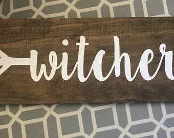 Personalized Arrow Sign