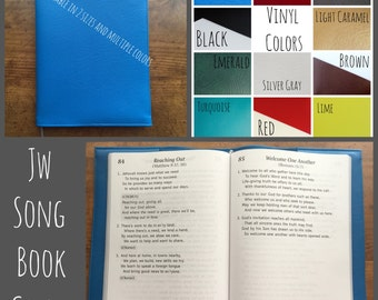 Custom JW Sing to Jehovah Song Book Cover in High Quality Vinyl