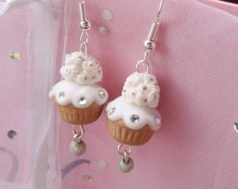White Sparkle Cupcakes