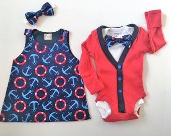 Boy and Girl Twin Outfits