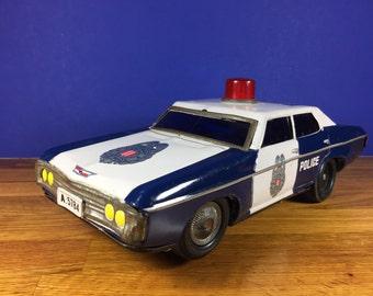 Friction Highway Patrol Car