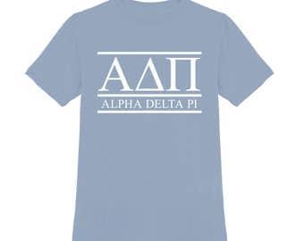 Alpha Delta Pi Shirt; Sorority Shirt; ADPi Shirt; Sorority Gift; Sorority Big Little; Sorority Gbig; Alpha Delta Pi Top; ADPi gift