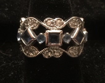 Ornate Vintage Sterling Silver Ring