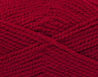 Now Added! Wine (545) Big Value Chunky Wool