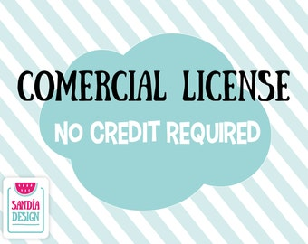 Comercial License, No Credit Required