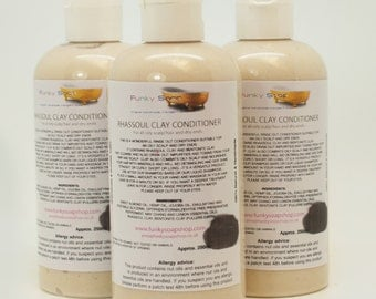 1 bottle Rhassoul Clay Conditioner 250ml, for oily hair and dry ends