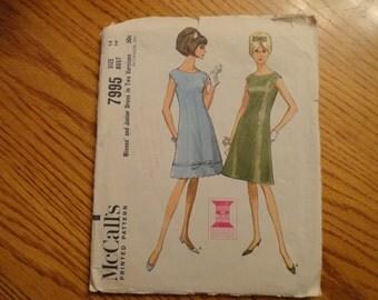 McCalls Printed Pattern Size 14 Bust 34 1965 dress