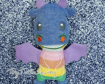 Wrap Scrap Dragon - Natibaby Crazy Rainbow
