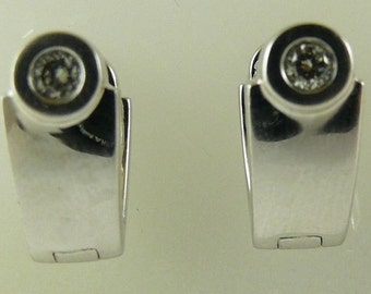 Diamond Earring 0.25ct 14k White Gold
