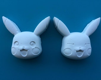 10 x Pikachu Pokemon Party Favours - Paint Your Own Pikachu! Set of 10