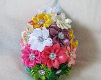 Easter egg decorations, easter egg from ribbon, Easter egg, home decor, Easter egg decor, Decor Easter egg, Easter egg, Easter gift, caffe