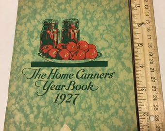1927 Home Canners Year Book