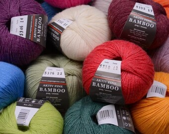 High quality super soft Aktiv Fine Bamboo 4 ply 1.75 oz