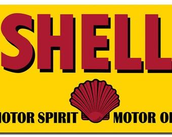 Motor Sprit Motor Oil Shell