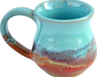 10 Oz. Mug in Indian Summer Glaze
