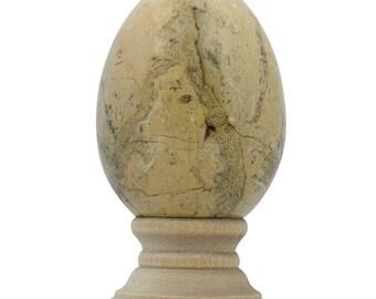 Polished Marble Collectible Stone Egg- SKU # se-06